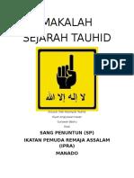 Cover Tauhid