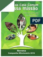 Livro Da Campanha Missionária 2016