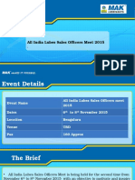 BPCL - All India Lubes Meet 2015 - Shubh