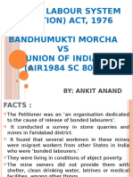 Bonded Labour System (Abolition) Act, Ppt
