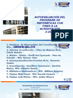 Claustro Estudiantes Mat UA Sem II 2016