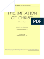 The Imitation of Christ Modern Translation
