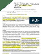 2013 - Artigo Equilíbrio Pélvico