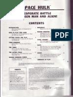Space Hulk 1st Edition Rulebook