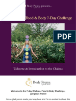 Chakras, Food & Body Challenge - Introduction to the Chakras