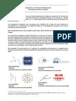Déclaration co-signée sur l'éventuel rétablissement de la peine de mort en Turquie