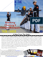 Task Cards -- Military Branches Reading Fluency & Comprehension