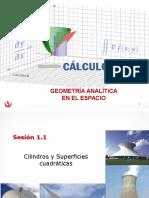 MA263_2016_2_ S_1-1 Cilindros y Superficies Cuadraticas