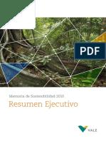 Sustainability Report Summarized Esp 2010