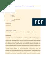 Tax and Transfer Pricing-identifikasi Dan Perlakuan Perpajakan Atas Transaksi Transfer Pricing