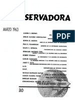Revista Conservadora No. 30 Mar. 1963
