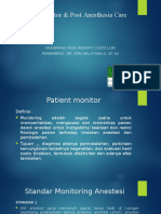Patient Monitor & Post Anesthesia Care Reza