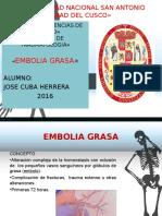 Embolia Grasa ppt