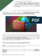 ¿Cómo bloquear un programa con el Firewall de Windows_ - Tecnología Fácil.pdf