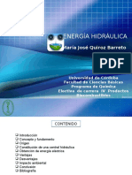 Energia Hidraulica. Seminario