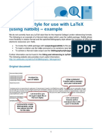 Harvard style for latex bibliography