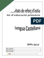 Lengua Castellana Activitats Reforc3a7 Destiu
