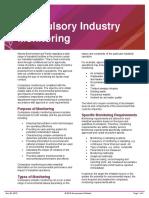Compulsory Industry Monitoring