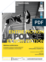 Colloque Police et fiction