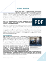 ADRA Serbia Capacity Statement July 2016