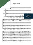 Kebyar-Kebyar - Full Score