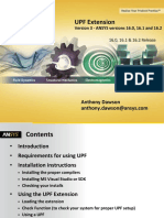 ACT UPF Extension Manual