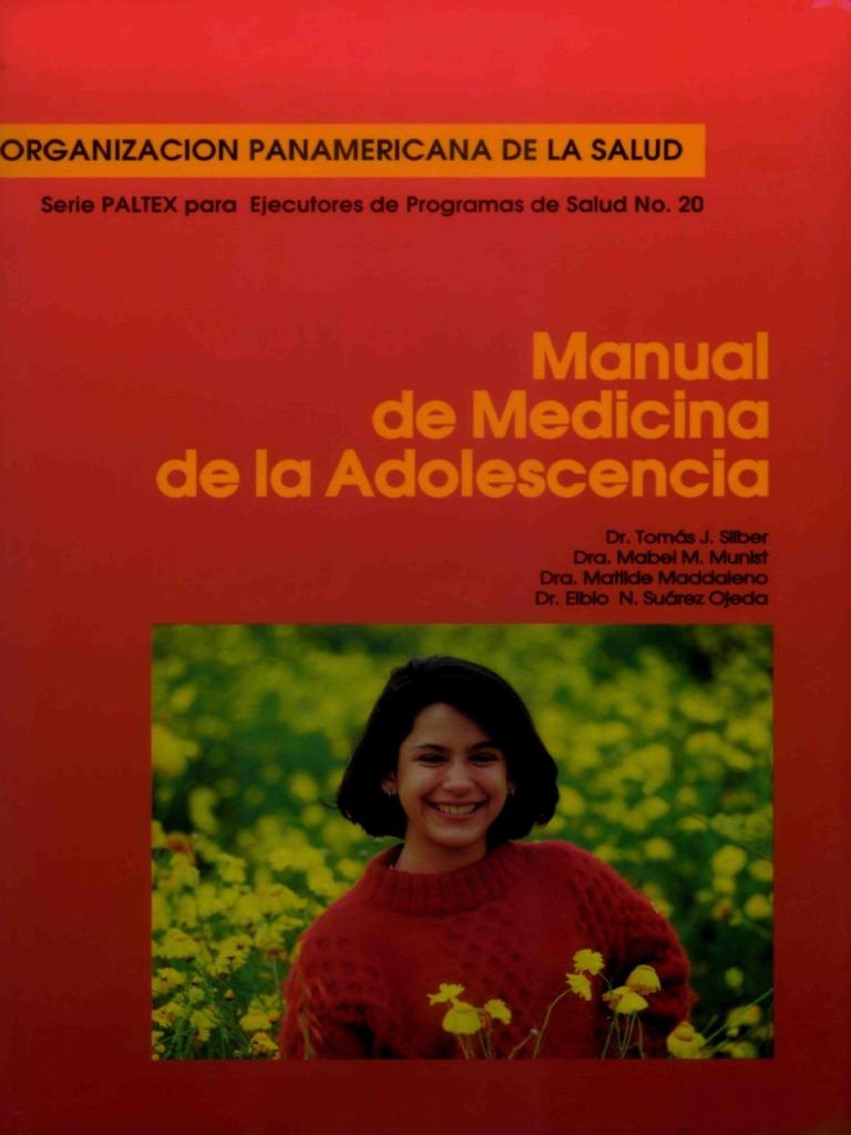 Manual de Medicina de La Adolescencia