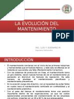 01.- La Evolución Del Mantenimiento