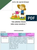 Proyecto de Aprendizaje Plantas