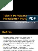1. Mengenal Manajemen Pemasaran_2016