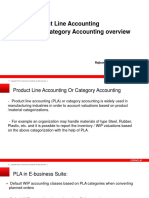 Product Line Accounting