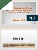 8.- NIA 315