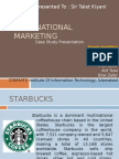 Case-Study, Starbucks International Marketing