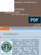 Starbucks   Going Global Fast Business Today Analysis of Starbucks and its International Strategy