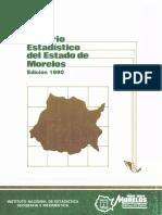 ANUARIO ESTADISTICO MORELOS, MEXICO-1990