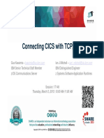 Connecting CICS With TCP