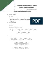 Problemas Resueltos de Calculo Integral MA-II Ccesa007