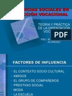 Influencias Sociales en La Eleccion Vocacional
