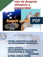Asepsia, Antisepsia y Medidas de Bioseguridad