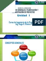 PRESENTACIÓN01 Conceptos Generales, Admon y Plan. de Proyectos