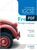 Cambridge IGCSE and International Certificate French Foreign Language