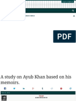 Books_Ayub Khan_A Study on Ayub Khan Based on His Memoirs.A