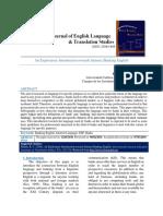 An Exploratory Introduction Towards Internet Banking English