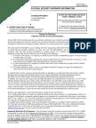 US Social Security Form (ssa-7050)