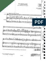 7 Sonata LEFEVRE Con Pianoforte