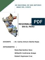 Balance de La Regionalizacion en El Peruregionalizacion (Autoguardado)