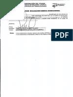 Evaluacion de Medico Ocupacional