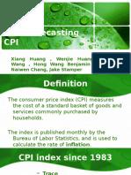 Forecasting CPI