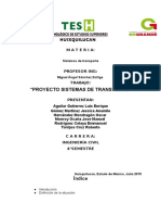 Pro Yec to Sistem as de Transport e