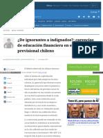 Www Elmostrador Cl Noticias Opinion 2016-10-23 de Ignorantes
